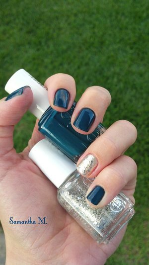 Love both this polishes :) I think my nails look chic.. What do you think?