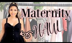 Maternity Try-On Haul! Look Chic and Fabulous While Pregnant