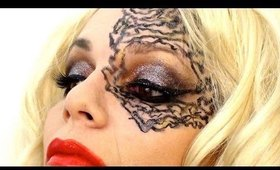 Halloween makeup : last minute gaga like!