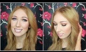 Valentine's Day Long-Lasting Makeup Tutorial! | Copper/Red Eyes & Pink Lips
