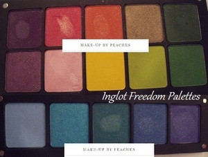 Inglot Freedom System palette review: please watch it on my channel :)