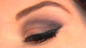 look used with too faced Boudoir eye palette