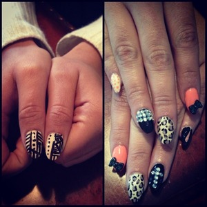 My friend is so good at nails!!! Love them<3