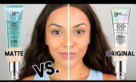 IT COSMETICS CC CREAM MATTE VS. ORIGINAL CC CREAM   Which ones better??? - TrinaDuhra