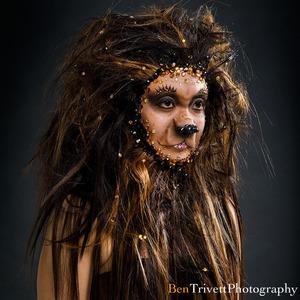 From my Rhinestone Horror series with photographer Ben Trivett