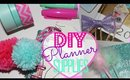 DIY Planner Supplies! Bow Paperclips, Pom Poms & Fluffy Pens