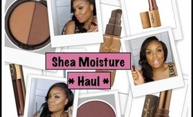Shea Moisture Cosmetics Haul | Swatches/ Review
