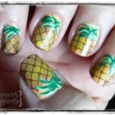Rockabilly Luau Pineapples