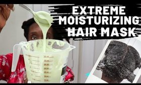 4c Hair Wash Day Tips: Best Deep Conditioning Method For Dry Hair   DIY Avocado Mask