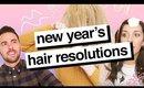 New Years Hair Resolutions (And Meet The Milk + Blush Team) | Milk + Blush Hair Extensions