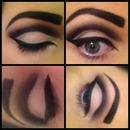 alternative smokey eye
