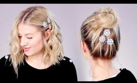 SUPER EASY: Day To Night Glam Hairstyles