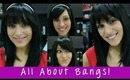 Instant Bangs and Clip In Bangs - All About Bangs! | Instant Beauty ♡