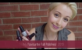 Favourite Nail Polishes for Fall! | MMUM