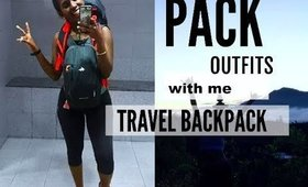PACK w/me BACKPACKING VACATION + TRY ON | JANET NIMUNDELE
