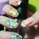 Fruity fun nails