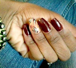 OPI Mrs. O'Leary's BBQ