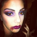 Sultry Vampire Halloween w/ Rebel Lips