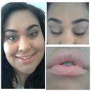 Neutral Smokey Eyes & Peachy Pink Lips