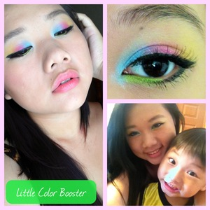 """Practice Practice Practicing with colors :) I named this """"Little Color Booster"""" because of my little bro :) even though we always fight he always makes me smile and laugh and is always there when i'm lonely haha <3"""