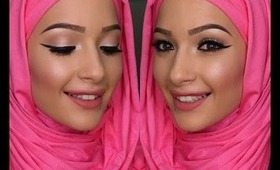 Get Ready With Me **Smokey Spring Inspired** Feat. Hijab-ista.com