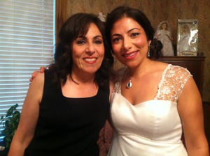 bride and mother of the bride. such beauties