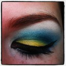 Budgie eye look