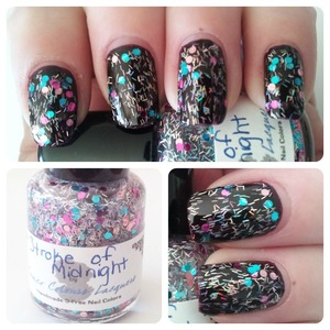 Full swatches and review on my blog http://www.hairsprayandhighheels.net/2013/01/franken-friday-cameo-colours-lacquers.html