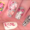 Lee Hi Rose MV Nails