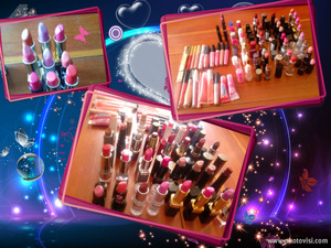 more and more lipstick