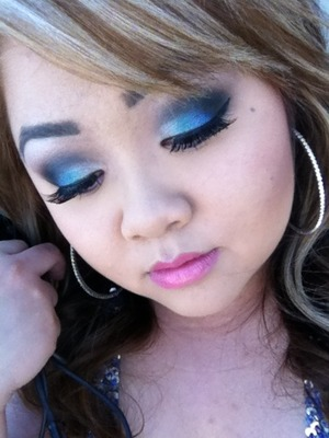 Senior Ball makeup 2012