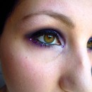 Hawkeye inspired make up