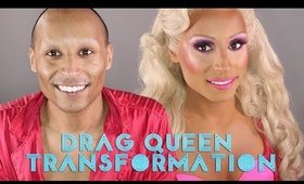 Drag Queen Transformation w/Dermablend
