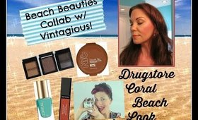 Beach Babe Collaboration! Vintagious & Scrappy Jessi