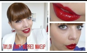 GLAMOROUS MAKEUP TUTORIAL INSPIRED BY TAYLOR SWIFT