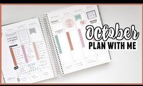 Plan With Me Erin Condren Vertical Planner ft. Lavenforest + EC Leftover Stickers