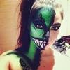 HALLOWEEN  Green Demon