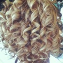 Highlighted curls
