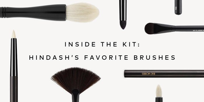 Find out what Hindash's Favorite Makeup Brushes are on beautylish.com