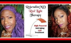 Rejuvalite MD Anti-Aging Light Therapy System Review + Demo