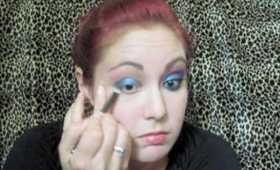 The Eyes Have It - Electric Shock Eye Catching  Makeup Tutorial Featuring Moi Minerals Cosmetics