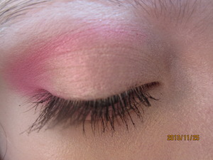 This pretty pink ads some color a dull day. I love how it has a shimmers rather than glitter. What do you think?