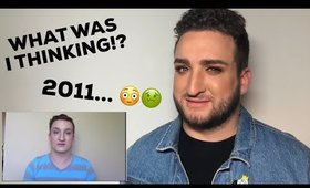 REACTING TO MY OLD VIDEOS! (CRINGE)