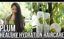 PLUM GOODNESS HAIRCARE REVIEW | Olive & Macadamia Healthy Hydration Range | Stacey Castanha