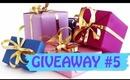 Giveaway #5!!! NYX palette, soft matte lip cremes, Gorjana Leather Wrap...