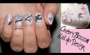 Cherry Blossom Spring Nail Art Design