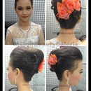 Elegant Bridal Twist Updo