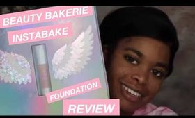 Beauty Bakerie InstaBake Foundation + Concealer Review (first impressions + wear test)