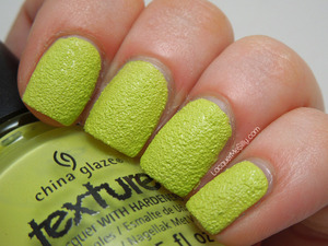 China Glaze Texture - In The Rough