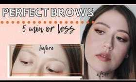 Perfect Brows For Beginners In 4 Steps